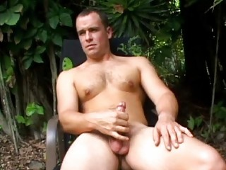 enormously awesome and sweet gay stud jerks off