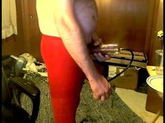 cumshots into pantyhose 2