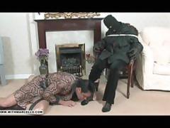 hunky gay stud likes feet wank and fellatio from