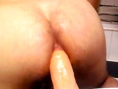 plastic cock anal young