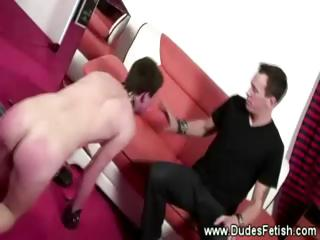 master spanking his gay pets balls