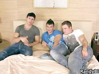 brett, patrick and reese gay threesome part1