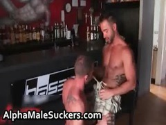 sexy gay hardcore fucking and licking gay video