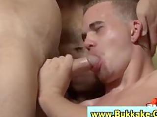 bukkake loving gay acquires libidos