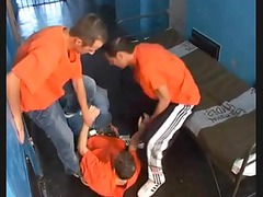 prison gay fuck compilation with bunch fuck