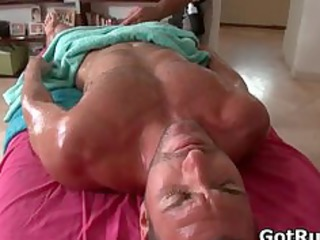 awesome sweet guy gets hot shape massages part3