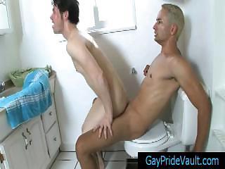 safe gay fuck inside the shower by gaypridevault