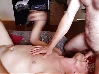 gay daddies enjoy to pierce bare too!