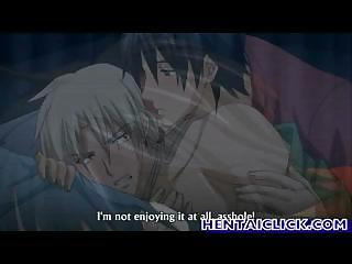anime gay super kissed and anal gangbanged