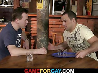 barmans primary gay sexual experience