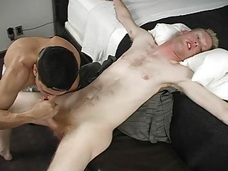 military gay hunk had his meat pole blown