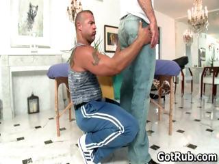 good boy obtains astonishing gay massage part6