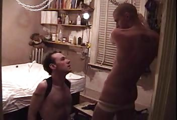 two lads having pleasure after awesome gay